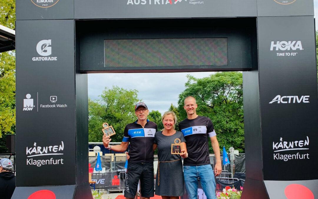 Podium beim Ironman Austria